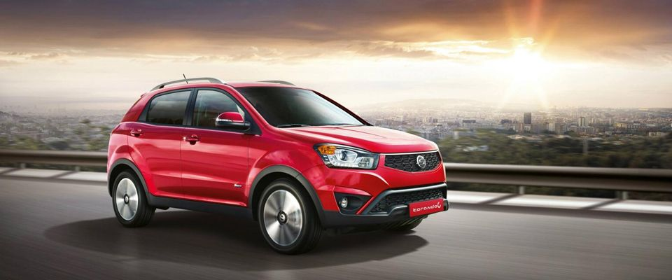 Slide Korando Red